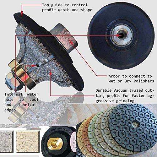 Diamond Profiling Wheel Grinding Wheel Ogee 3/4