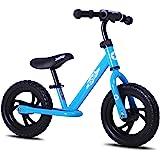 JOYSTAR 12/14 Inch Lightweight Kids Balance Bike for 2 3 4 5 6 Years Old Toddlers, Kids Push Bikes, Glider Bike with Footrest