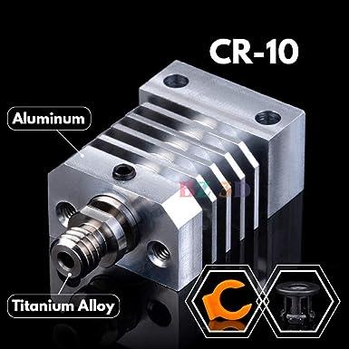 0,4 mm Ugello in acciaio temprato 1 pezzo PrimaCreator CR-10S Pro