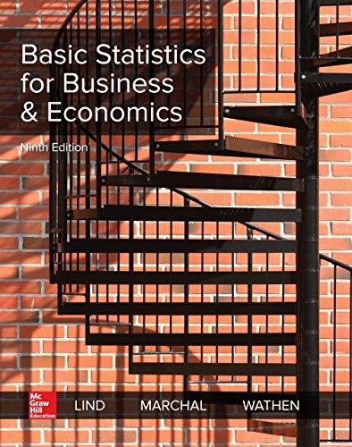 Basic Statistics for Business and Economics (Basic Statistics For Business And Economics 8th Edition)