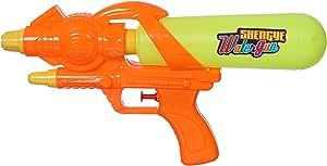 لعبة مسدس ماء بلاستيك للجنسين- متعدد الالوان