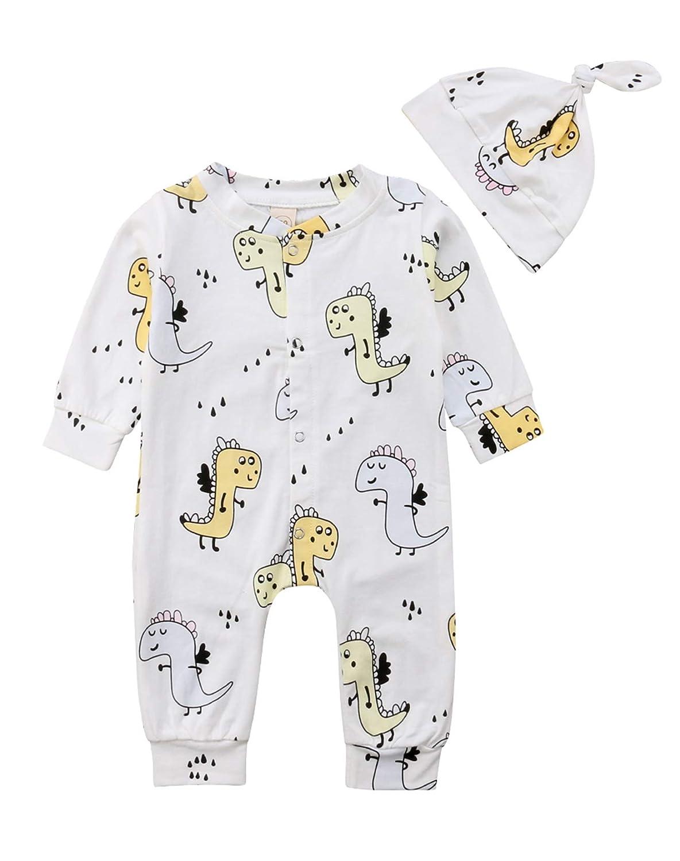 fb627becd Amazon.com  Urkutoba 0-2T Cute Toddler Infant Baby Boys Girls Lovely ...