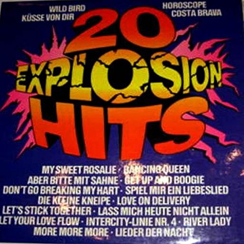 Ronco Presents Sound Explosion (20 Original Hits by Original - Kc Mall