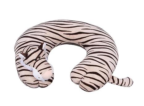 Cuscino Collo Da Viaggio Tiger.Eozy Beige Tiger Cuscino Cervicale Gonfiabile Collo Cuscino Da