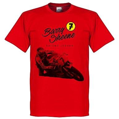Barry Sheene T-Shirt - rot - XS