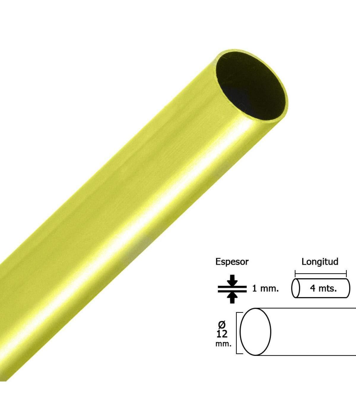 12 mm. Ba 4,0mt. ORYX 5300075 TUBO STOR DORADO RED