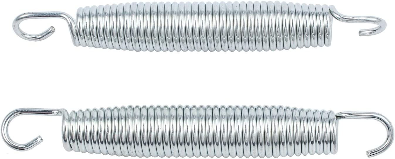 EWONICE 20Pcs Trampoline Springs Set Heavy Duty Galvanized Steel High Tensile Replacement Kit