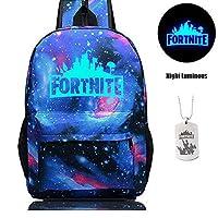 Fortnite Mochila, Fortnite School Bag Mochila de lona Unisex de libros Mochila de Satchel Bolsa de viaje diaria para niños y niñas adolescentes … (7)