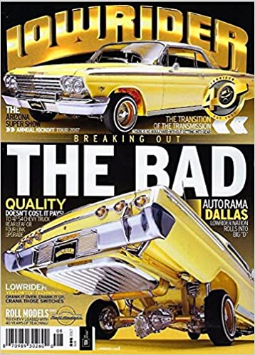 Lowrider Magazine August ARIZONA SUPER SHOW Autorama Dallas - Lowrider car show dallas