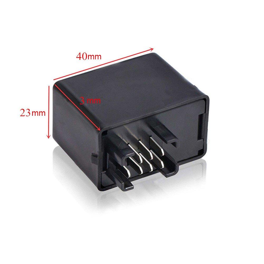 Relais pour Clignotants LED 7 Pin 12V pour Moto par sweetlife 1pc