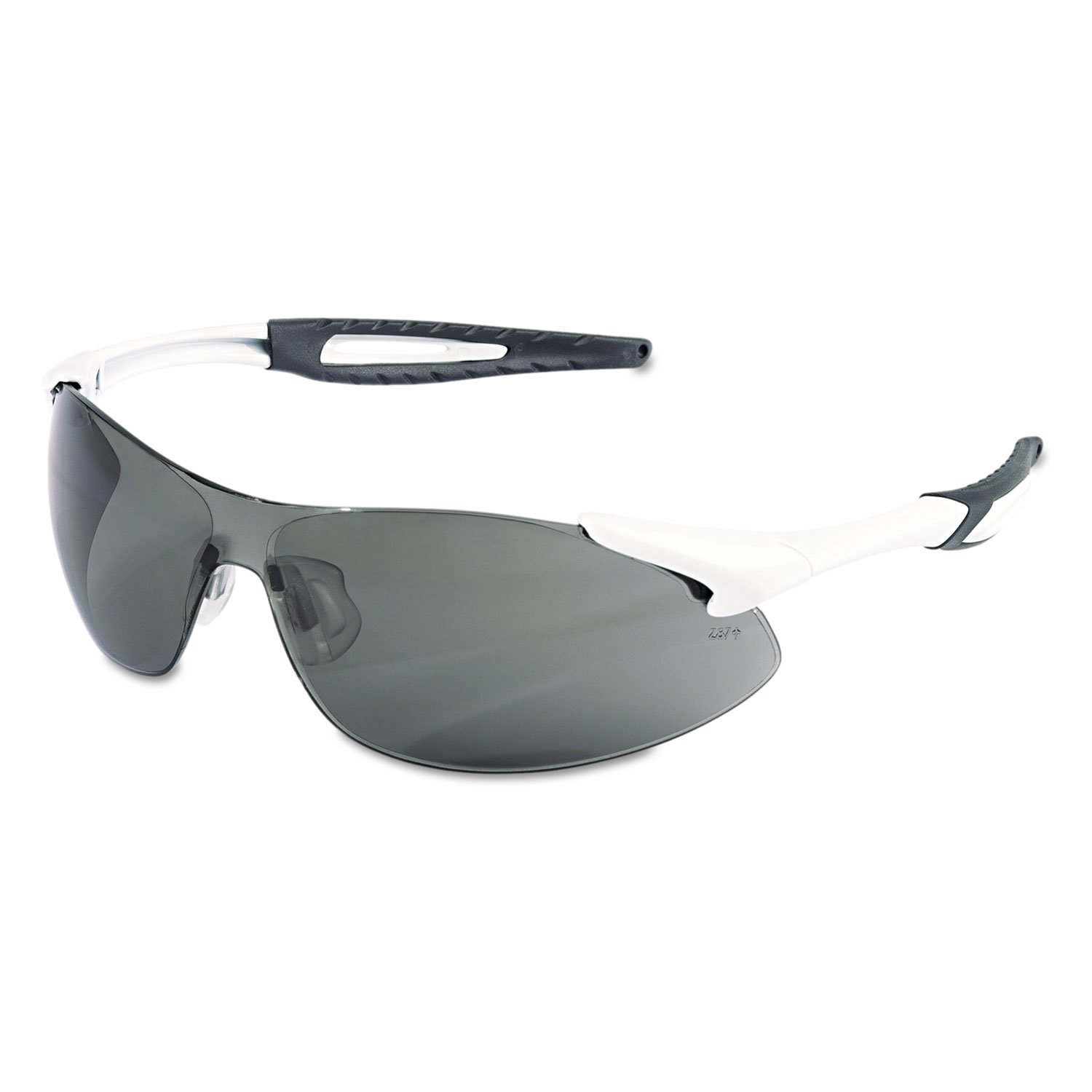 Inertia Safety Glasses, White Frame, Gray Anti-Fog Lens, One Size Tools Equipment Hand Tools