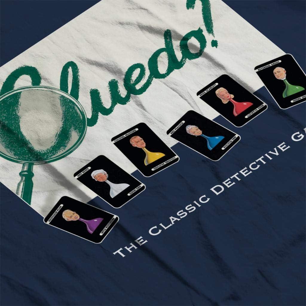Hasbro Cluedo Classic Detective Game Womens Sweatshirt: Amazon.es: Ropa y accesorios
