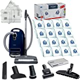 Miele Complete C3 Marin Canister HEPA Canister Vacuum Cleaner with SEB236 Powerhead Bundle - Includes Performance Pack 16 Typ