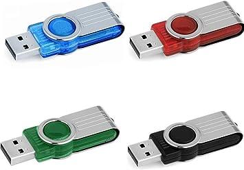FAT USB 2.0 Flash Drive 1MB-64GB Memory Stick 4 Color Metal Key Thumb Pen lot