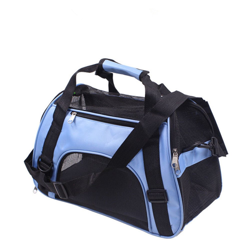 Pet Carrier Handbag Travel-friendly Zipper Closure for Travel