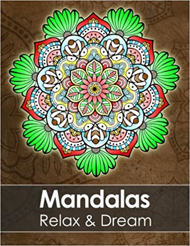 Amazoncom Mandala colouring book for adults Relax Dream with