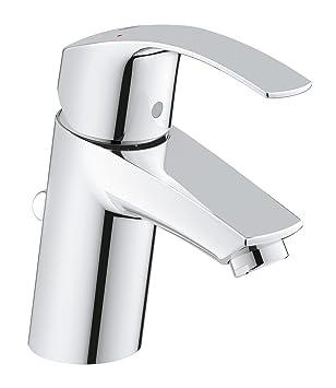 Grohe Eurosmart Badarmaturen Einhand-Waschtischbatterie (DN 15 S-Size,  Einlochmontage) chrom, 23456002