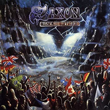 amazon rock the nations saxon ハードロック 音楽