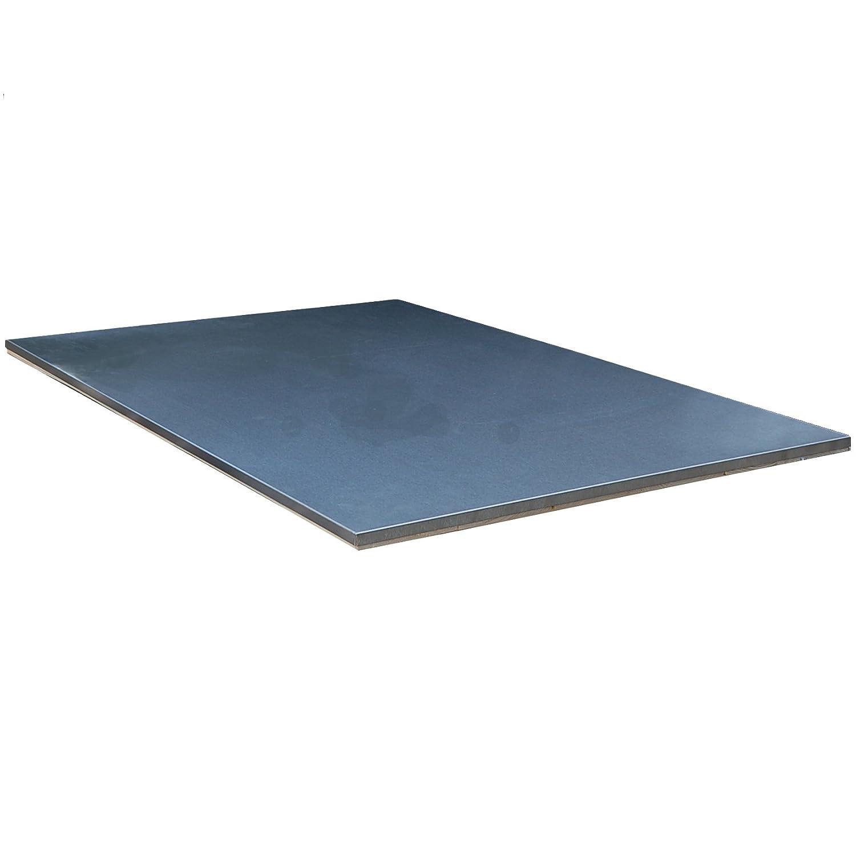 Palettenmobel Grilltisch Edelstahl Arbeitsplatte Steel