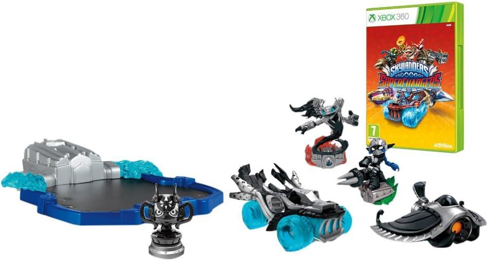 Activision Skylanders SuperChargers Dark Edition SP, Xbox 360 - Juego (Xbox 360, Xbox 360, Acción / Aventura, E10 + (Everyone 10 +))
