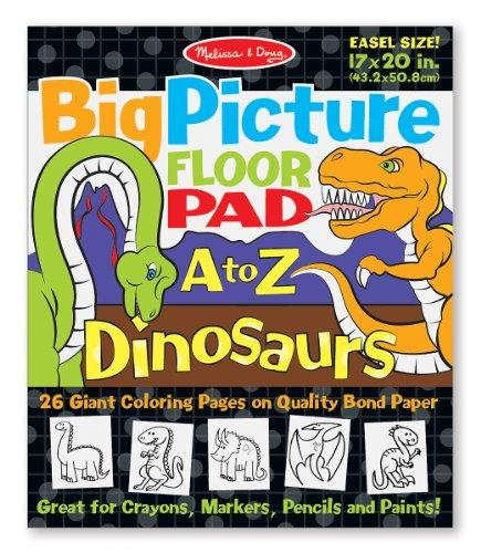 Melissa Doug Picture Floor Dinosaurs