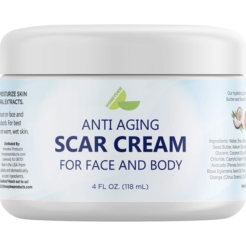 Scar Cream for Face and Body - Antioxidants Vitamin E Jojoba & Cocoa Butter