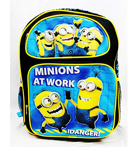 Backpack - Despicable Me - Minions At Work Large School Bag New dl20626 B00M4M5426