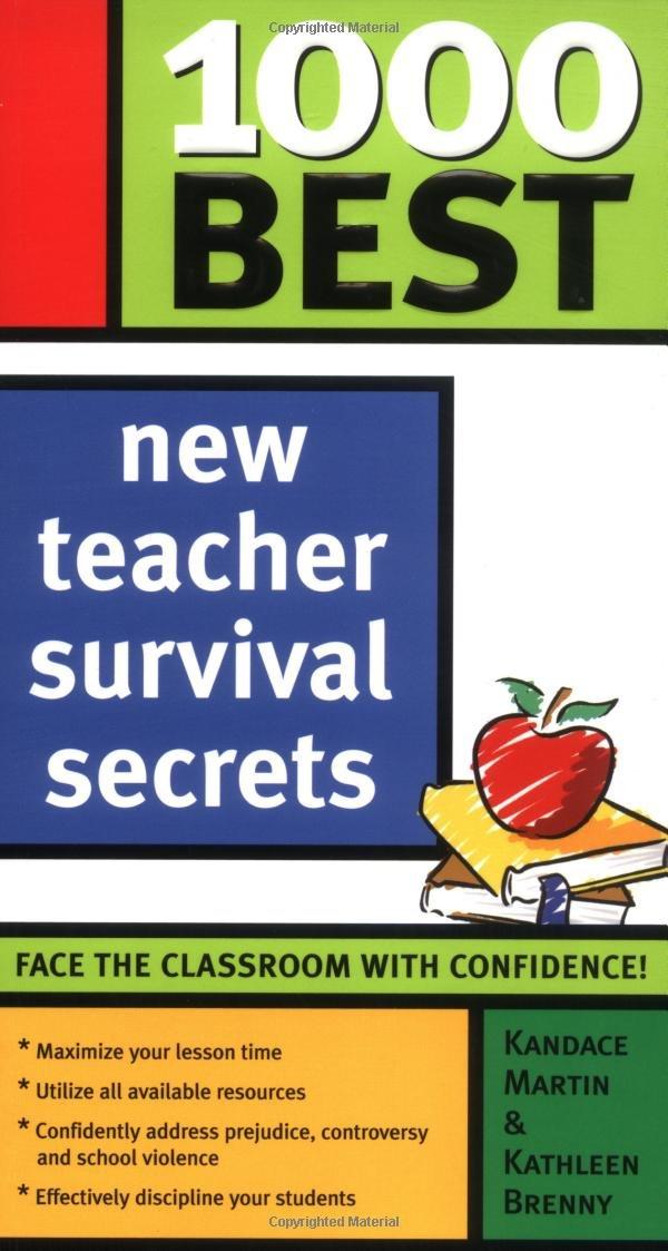 Download 1000 Best New Teacher Survival Secrets ebook