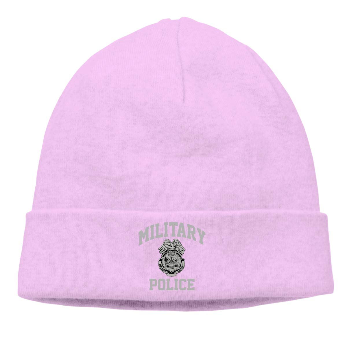 Riokk az Military Police Skull Hats Beanie Caps for Men Pink