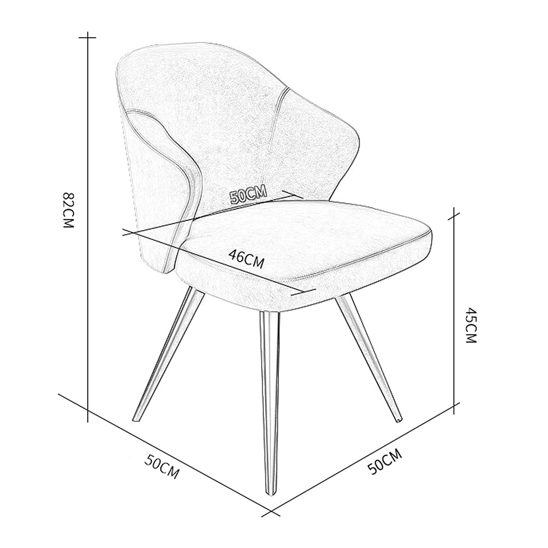AFEO Makeuppall matstol affärsförhandlingsstol klädaffär mottagningsstol kaffestol bänkstol omklädningsrum stol läsning lärande stol marinblå