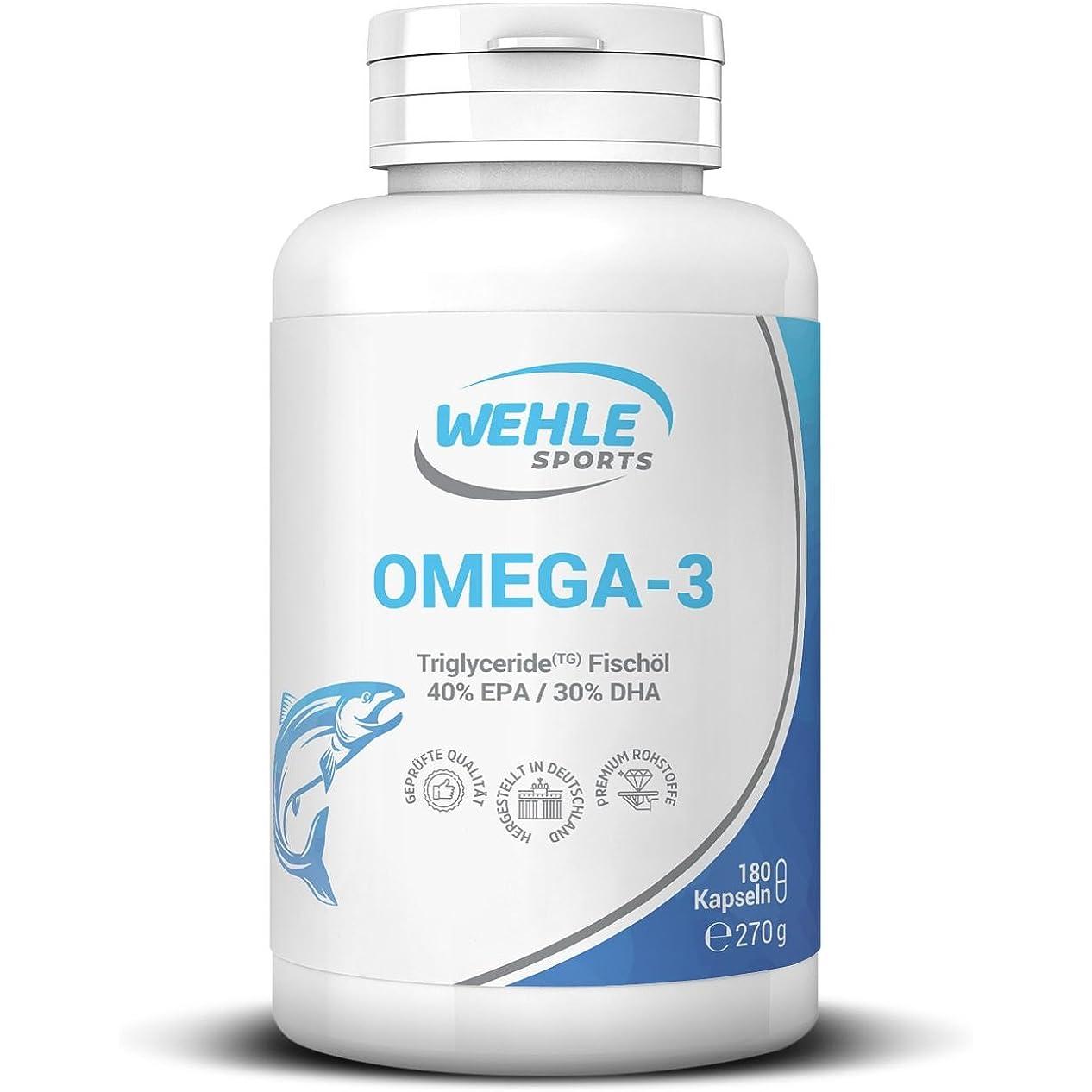 Wehle Sports Omega 3 Kapseln