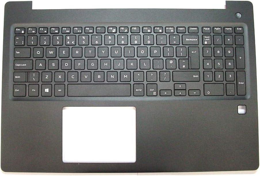 TJL Latitude 3590 UK Palmrest and keyboard Assembly R17PT