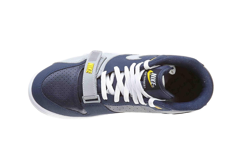 half off 139eb 24188 Amazon.com  Nike Air Trainer 1 Mid Premium Midnight NavyObsidianTour  YellowWolf Grey 317553-400 Size 14  Fitness  Cross-Training