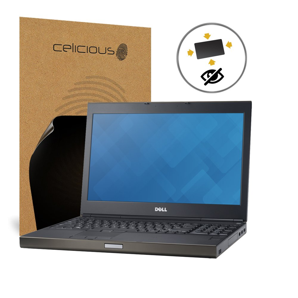 Celicious Privacy Plus Dell Precision 17 M6800 4-Way Visual Black Out Screen Protector by Celicious