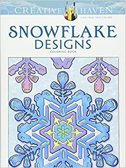 Amazon.com: Creative Haven Snowflake Designs Coloring Book (Adult ...