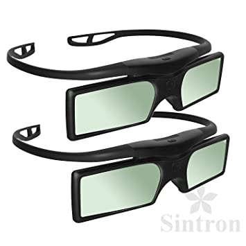 1d88f3be672 Buy  Sintron  2X 3D RF Glasses for Sony Panasonic Samsung 3D TV Online at Low  Prices in India - Amazon.in