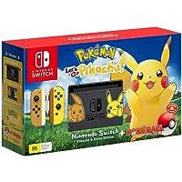 Nintendo Switch Pikachu & Eevee Edition + Pokemon Let's Go Pikachu + Pokeball Plus