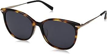 Max Mara Womens Mmneedleixfs Polarized Round Sunglasses DKHAVANA 57 mm