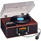 ティアック ターンテーブル/カセットプレーヤー付CDレコーダーTEAC LP-R560K