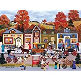 Hustle and Bustle Puzzle by Jane Wooster Scott - 300 Pieces