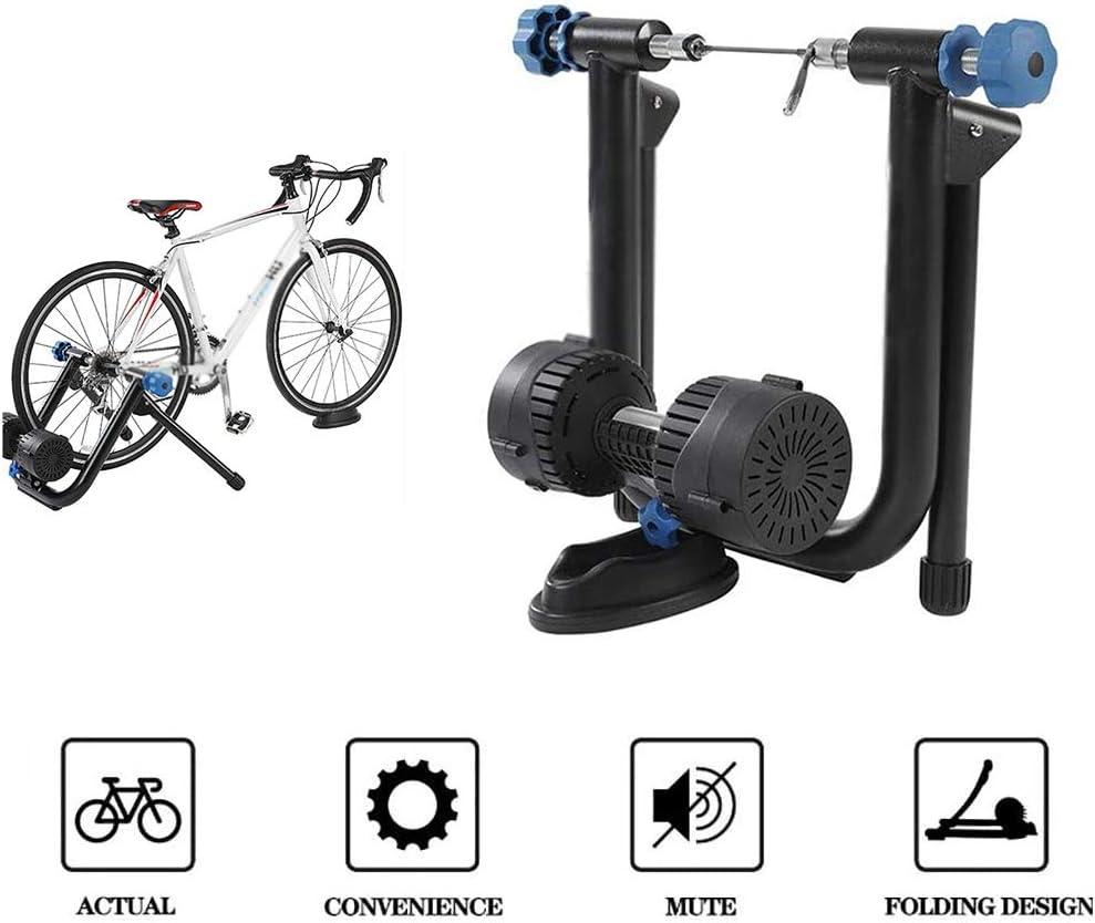 FHUILI Magnética Soporte la Bici Trainer - Entrenador Bicicletas Soporte - Resistencia Variable Bicicleta magnética Turbo Trainer - Soporte del Marco Interior la Bici Trainer Bicicletas Aptitud del,A: Amazon.es: Deportes y aire