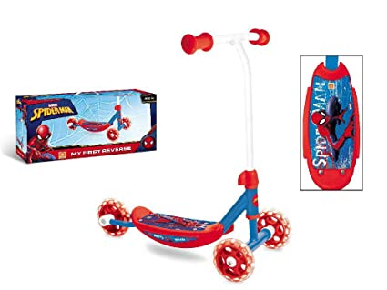 Amazon.com: Mondo-28486 Spiderman Scooter Red / Blue 28486 ...