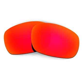 69f7e9dfdc Amazon.com  Hkuco Plus Mens Replacement Lenses For Oakley Jawbone Sunglasses  Red Polarized  Clothing