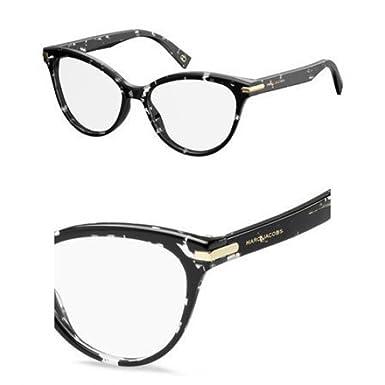 b6e34710ad Amazon.com  Marc Jacobs Plastic Rectangular Eyeglasses 54 09WZ ...