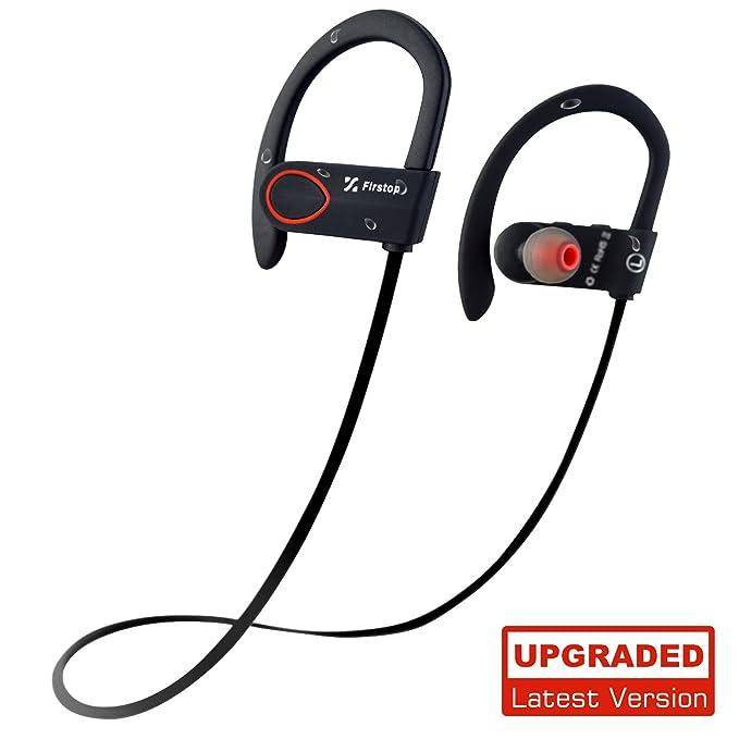 Auriculares inalámbricos, auriculares Bluetooth FIRSTOP IPX7 ...