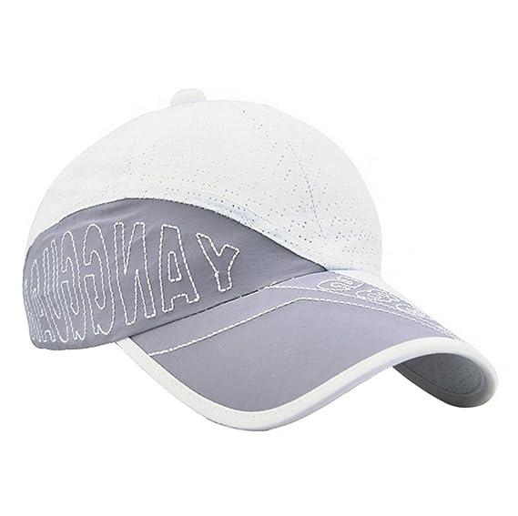 YueLian Unisex Dibujo Palabra Sombrero de Verano Anti-UV Gorra ...