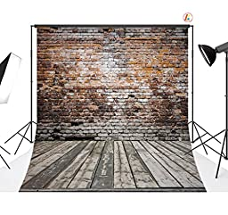 LB 10x10ft Brick Wall lavender Thin Vinyl Customized Backdrop CP Photography Prop Photo Background DZ369