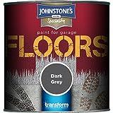 Johnstones 307938 Garage Floor Paint - Dark Grey,0.25 by Johnstones