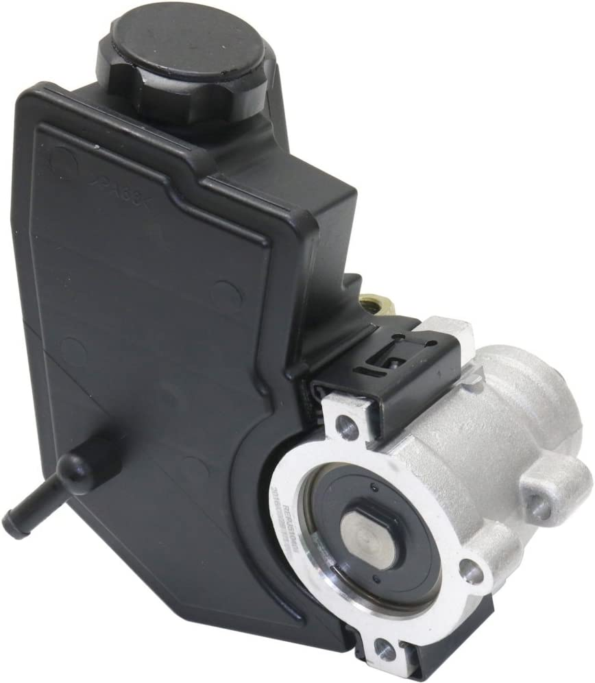 Power Steering Pump compatible with GRAND CHEROKEE 99-04 New w//Reservoir 6 Cyl 4.0L//4.7L eng.
