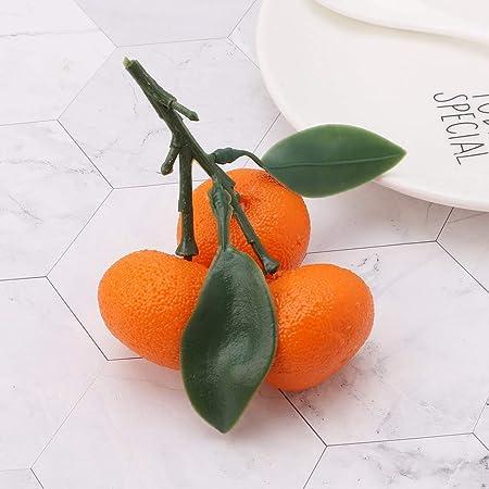 Bogji - Frutero Realista Realista, plástico Artificial, Naranjas, decoración de Alimentos para el hogar, Fiestas, etc, Espuma, B, Medium: Amazon.es: Hogar